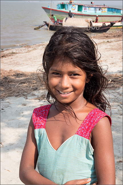 Bangladeshi village girl