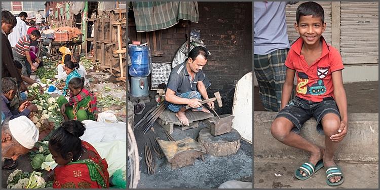 Life in Kawran Bazaar, Dhaka