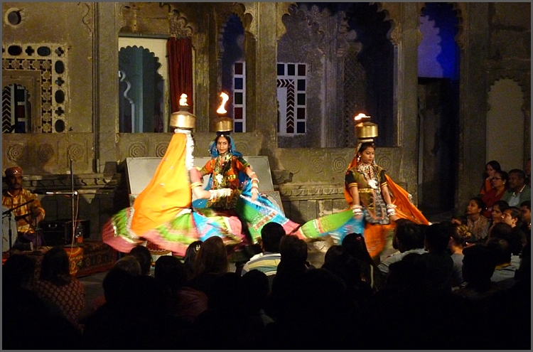 Evening show in Udaipur