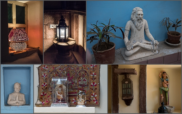 Some of the fascinating features in Bristow's Haveli in Jodhpur