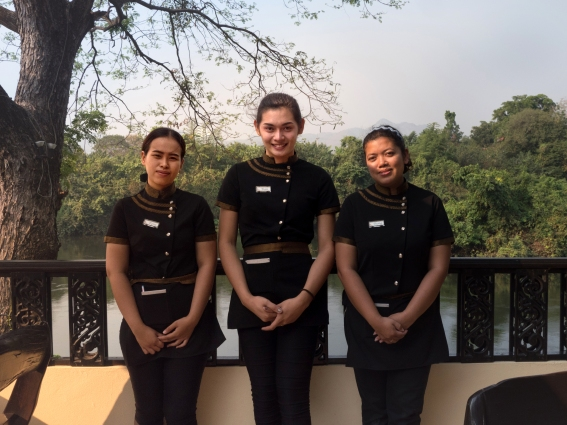 Staff at Oriental Kwai Thailand