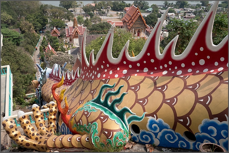 From caves to dragons to elephants in Thailand.