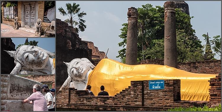 Wat Yai Chaimongkhon Ayutthaya, Thailand