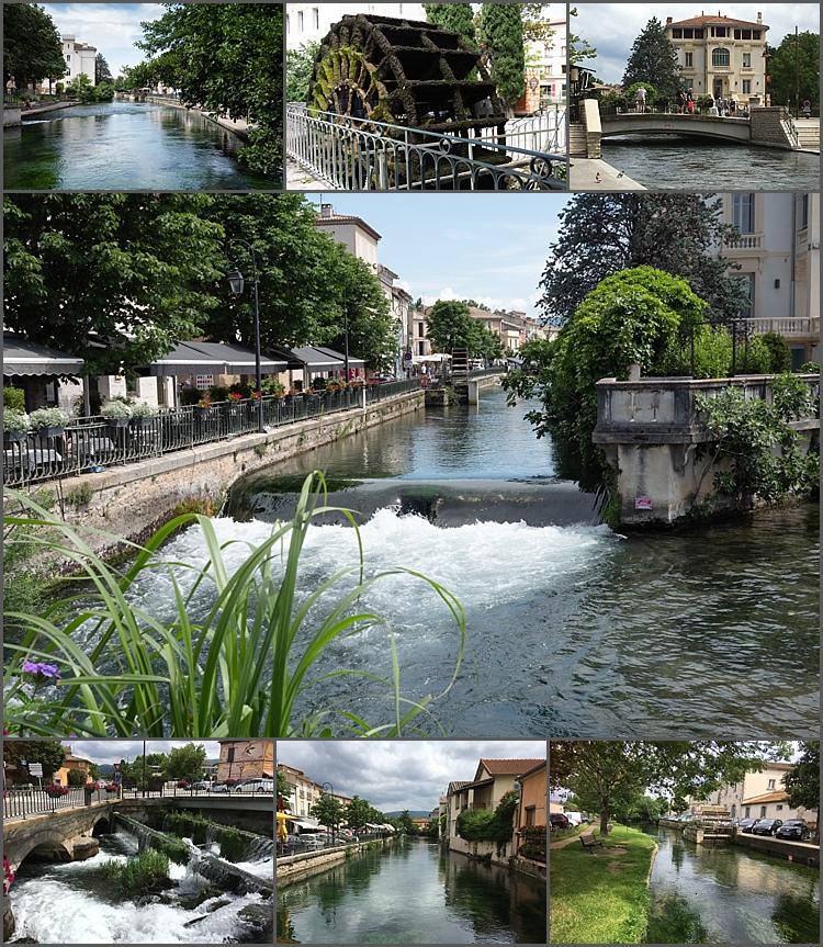 L'Isle-sur-la-Sorgue, Venice of Provence.
