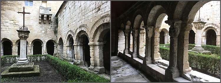 Cavaillon Cathedral, the cloister.