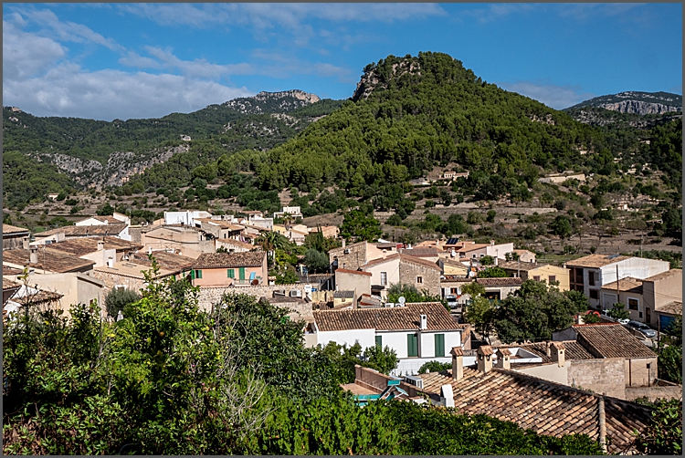View over Puigpunyent, Mallorca