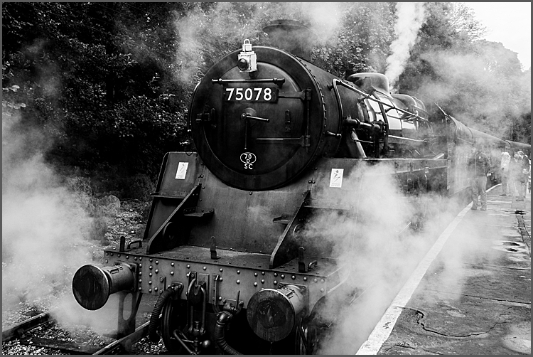 Oxenhope to Keithley steam by Maggie Booth Photography