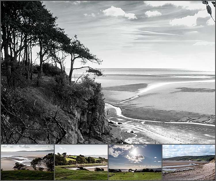 Silverdale Cove on the Lancashire coast by Maggie Booth Photography