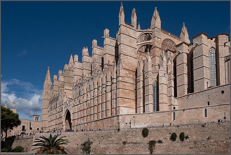 Santa Maria Cathedral, Palma, Mallorca by Maggie Booth Photography