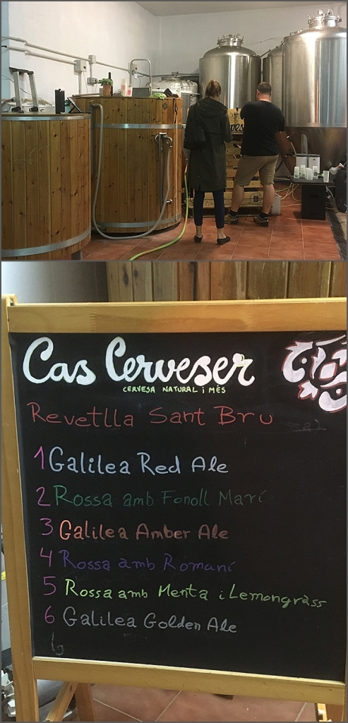 Cas Cerveser Brewery in Puigpunyent