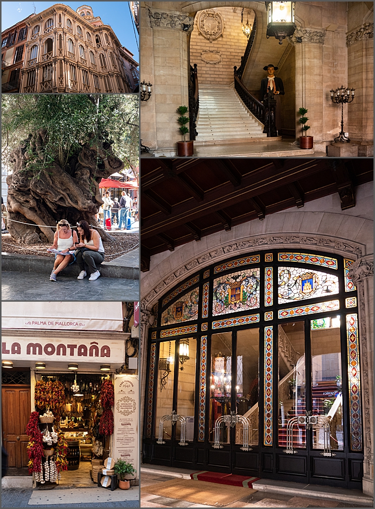 The streets of Palma, Mallorca by Maggie Booth Photography