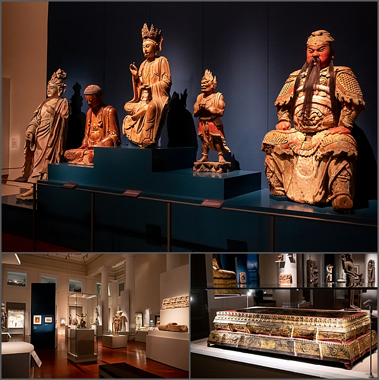 The Gallery of ancient religions at The Asian Civilisations Museum, Singapore