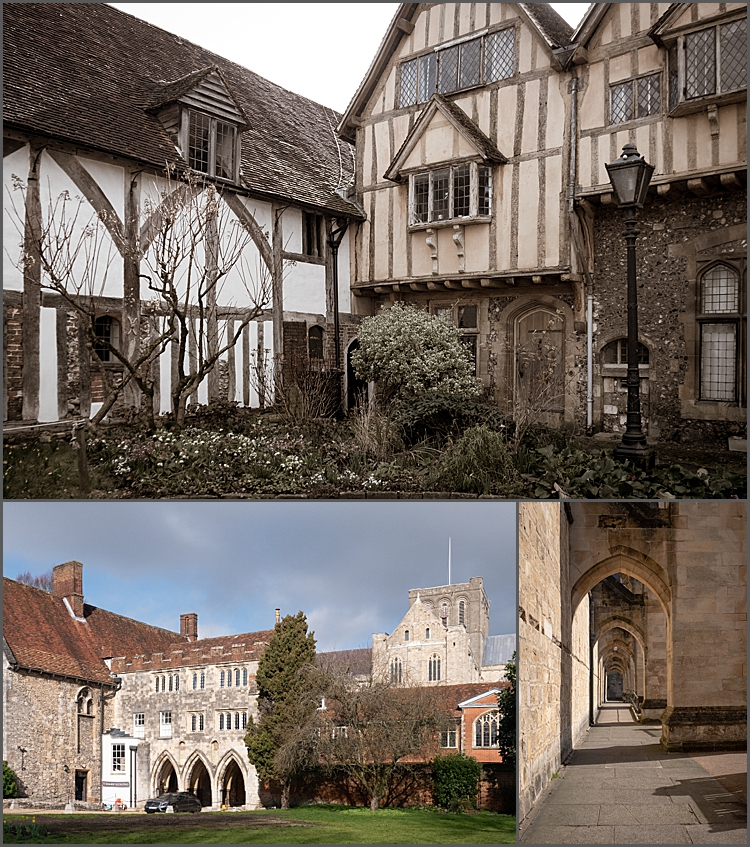 Cathedral Close, Winchester.