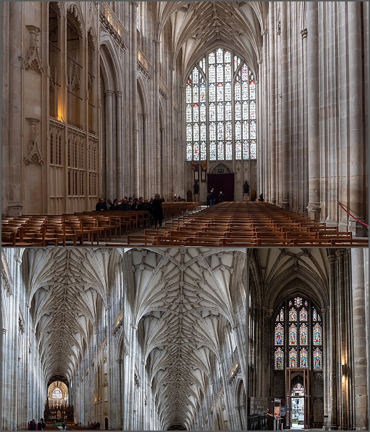 Architectural highlights of Winchester Cathedral