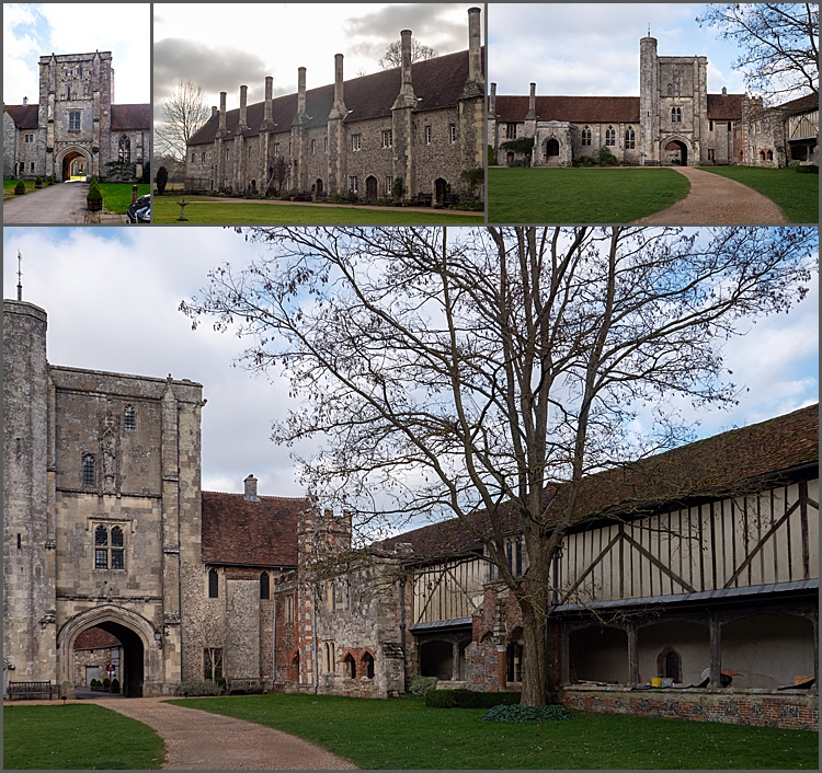 Grounds of the Hospital of St Cross, Wiltshire.