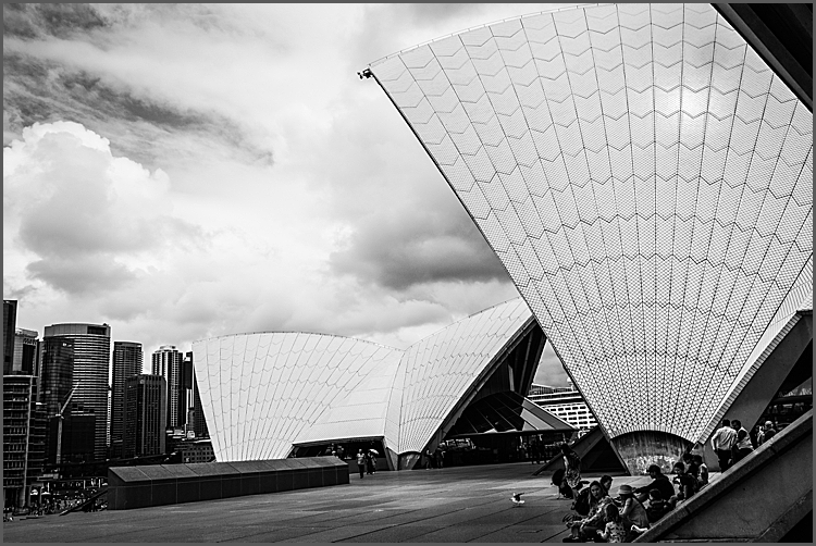 Front of the Sydney Opera House