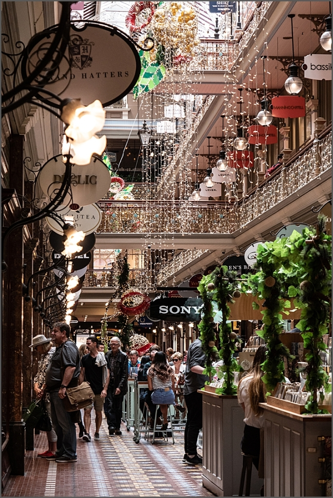 Strand Arcade in Sydney city centre.
