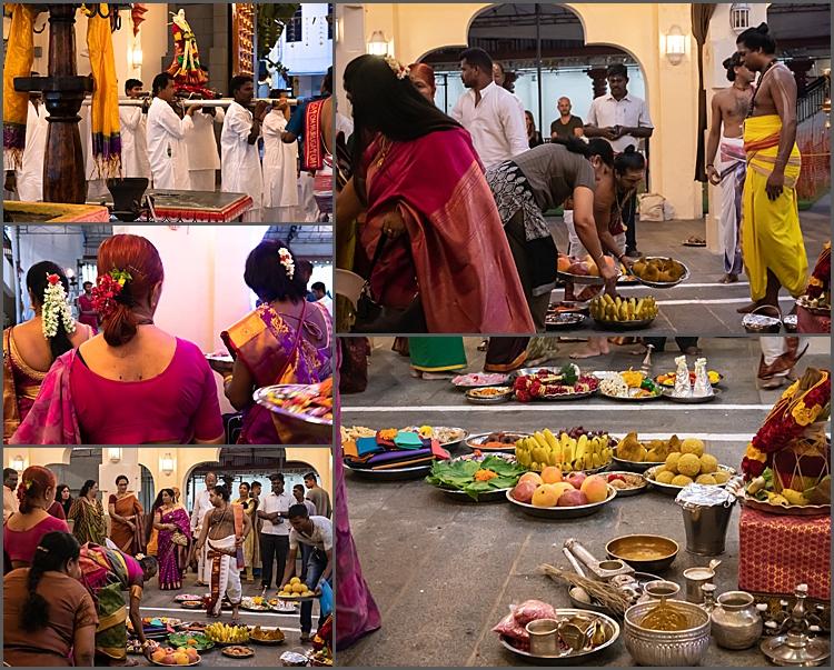A ceremony at Sri Mariamman Temple