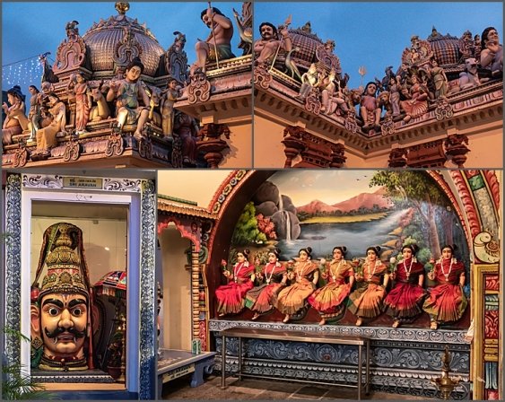 Wonderful features of the Sri Mariamman Temple, Singapore