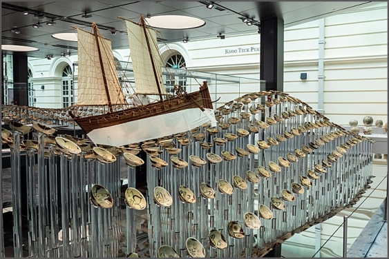 Display from the Tang shipwreck