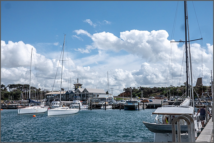 Mornington Harbour Victoria.