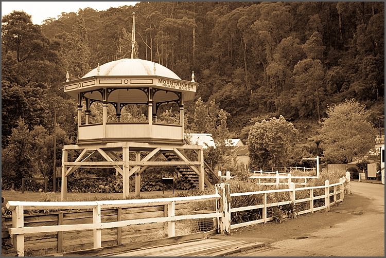 Band stand in Walhalla