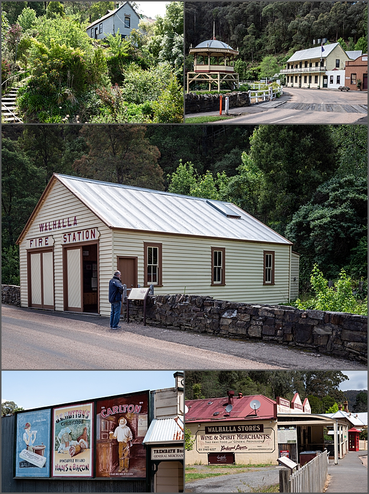 Historic town of Walhalla N.S.W.