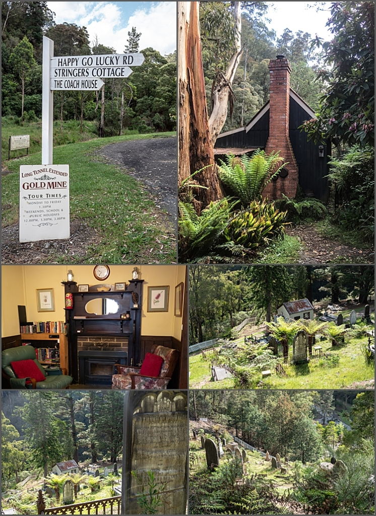 Miners Cottage in Walhalla and the Cemetery
