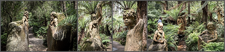 Gardens of the Dandenong Ranges, Victoria, Australia