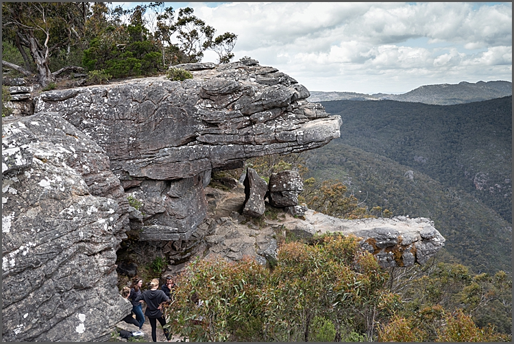 Walking up to The Pinnacle in The Grampians.