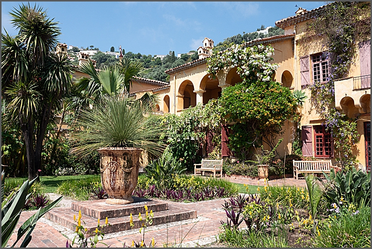 Val Rameh exotic garden in Menton, France