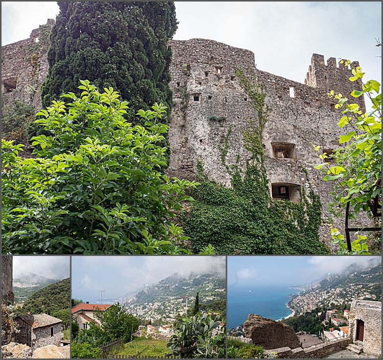 Roquebrune-Cap-Martin between Menton & Monaco