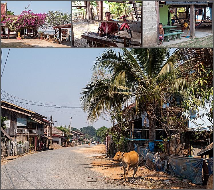 Don Khon island, southern Laos.