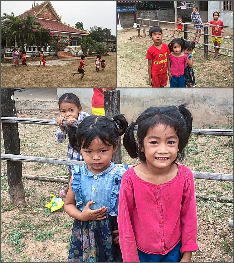 Children in Champasak, Southern Laos