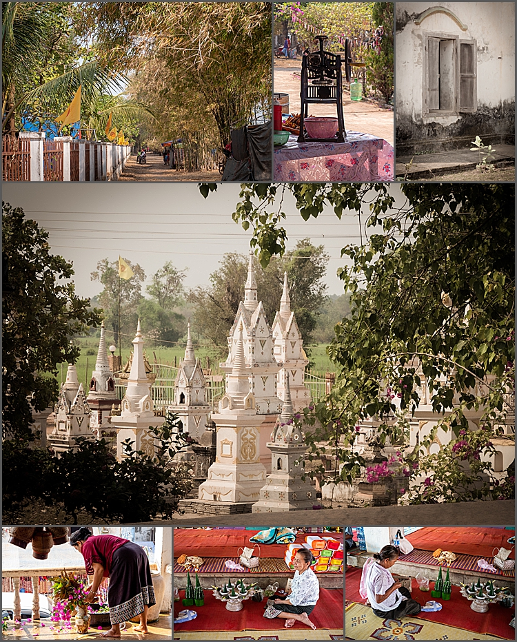 Wat Muang Kang in Champasak, Southern Laos