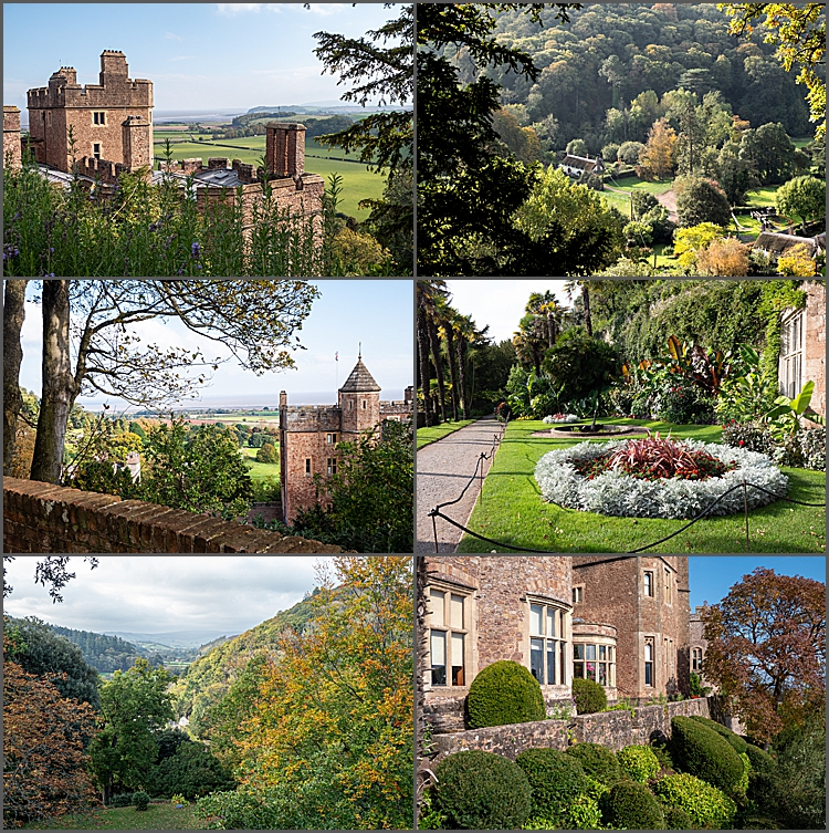 Grounds of Dunster Castle, Somerset