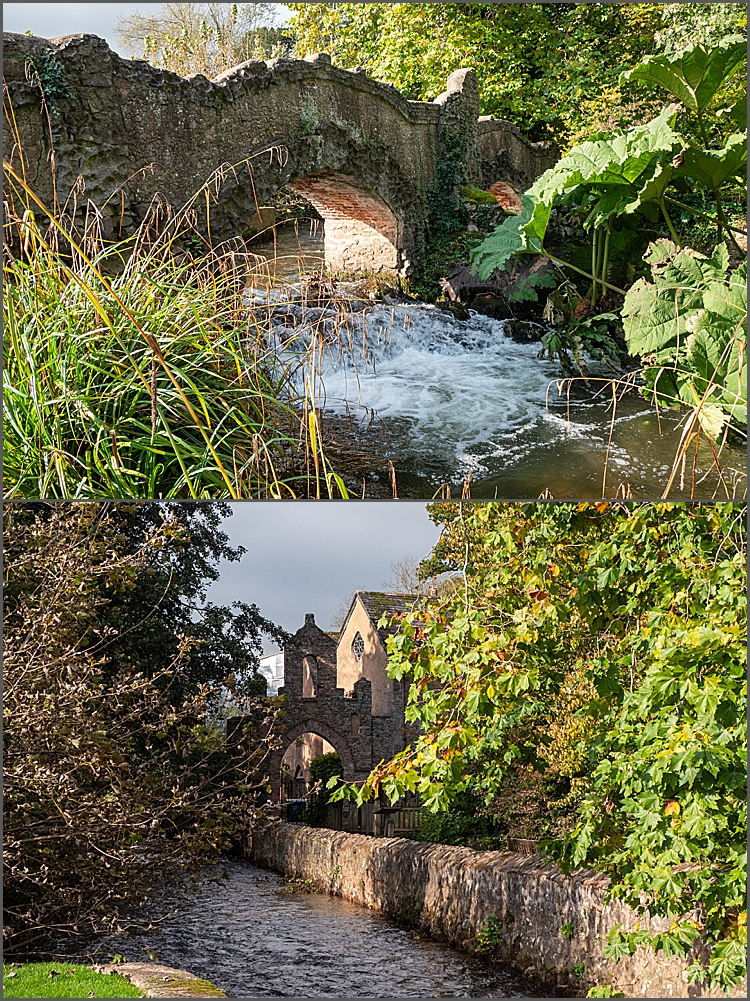 Mill Gardens at Dunster Castle, Somerset