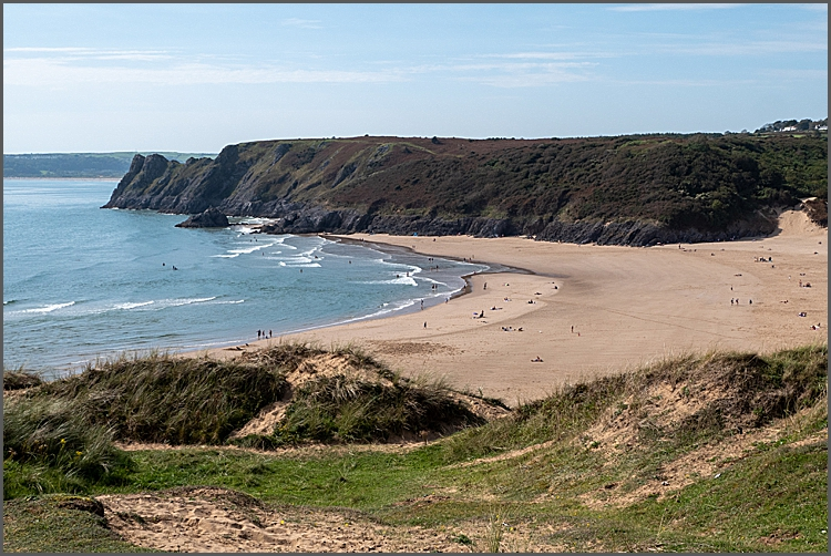 The beautiful Gower Peninsular.