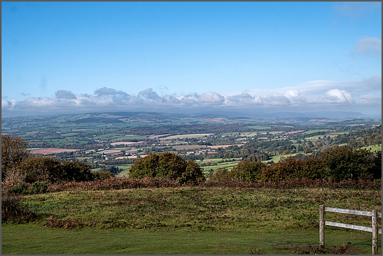 View from Cothelstone Hill on The Quantocks