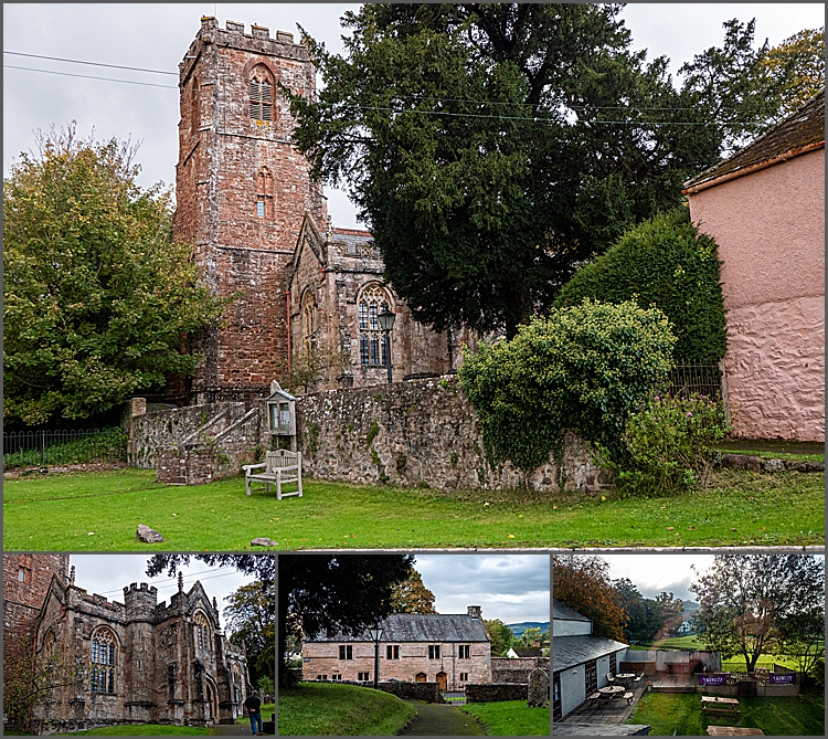 Village of Crowcombe, Somerset